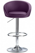 Pavia Bar Stool Purple