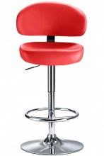 Deluxe Casino Bar Stool Red