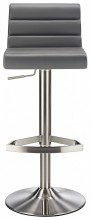 Maine Brushed Bar Stool Grey