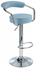 Zenith Fabric Bar Stool Blue