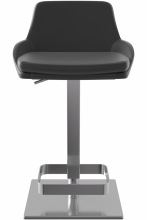 Lucca Bar Stool Black