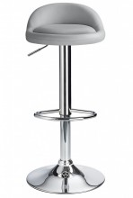 Cushion Bar Stool Grey