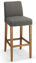 Firenze Fabric Bar Stool Grey