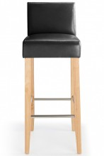 Steffano Bar Stool Black
