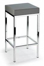 Cube Bar Stool Grey