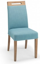 Modena Fabric Dining Chair Teal