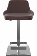 Lucca Bar Stool Brown