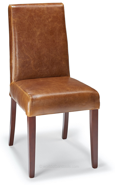 Firenze Dining Chair Tan Aniline Leather