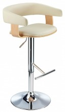 Cappello Bar Stool Cream & Oak