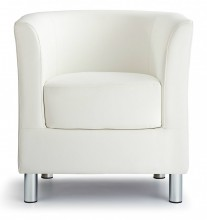 Designer Tub Chair White