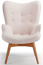 Contour Lounge Chair Pink
