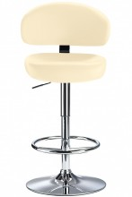 Deluxe Casino Bar Stool Cream