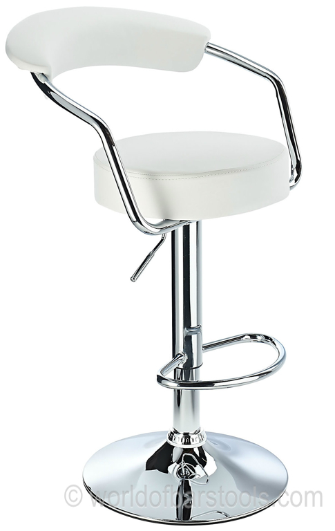 Zenith Bar Stool White : Zenithbarstoolwhiteshortcrop82172zoom from www.worldofbarstools.com size 485 x 768 jpeg 128kB