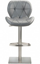 Profile Deluxe Brushed Stool Grey