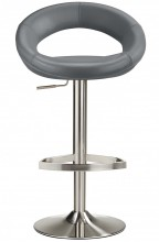 Sorrento Brushed Bar Stool Grey